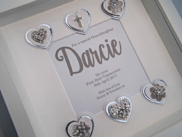 Granddaughter's First Holy Communion Gift Frame